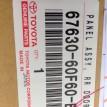 Обшивка двери задняя правая Toyota Land Cruiser 200Series  оригинальный номер 67630-60F60
