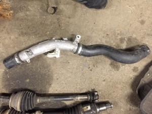 Патрубок охлаждения турбины Toyota RAV 4 IV (CA40) Рестайлинг