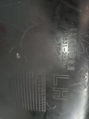 Подкрылок задний левый Hyundai Santa Fe II CM рестайлинг Hyundai Santa Fe