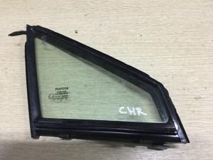 Стекло двери передней правой (форточка) Toyota C-HR I Рестайлинг