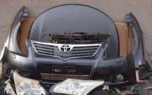 Бампер передний б/у Тойота (левый руль) Toyota Verso