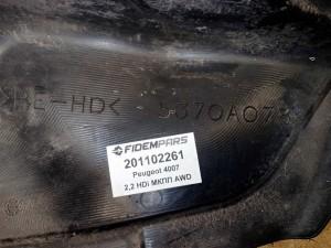 Название детали Подкрылок задний правый Модель Peugeot 4007 Peugeot 4007