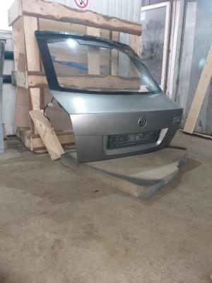 крышка багажника со стеклом Skoda Octavia II Рестайлинг Лифтбек