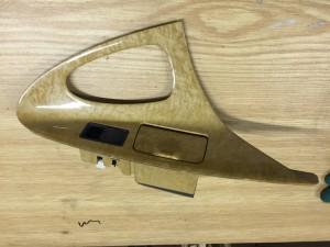 Кнопка стеклоподъемника с накладкой задняя правая Toyota Camry VI (XV40)