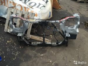 Передняя панель, телевизор Nissan X-Trail I
