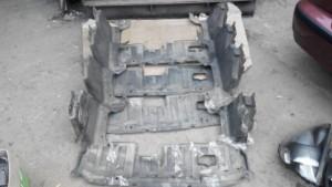 Защита двигателя Honda Jazz