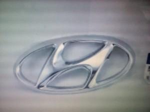 Эмблема Солярис Hyundai Solaris I Рестайлинг Седан