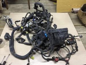 Проводка подкапотная с Блоком предохранителей Toyota Yaris II Хэтчбек 5дв.