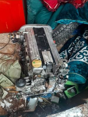 Двигатель по запчастям Z22SE на Опель Opel Zafira