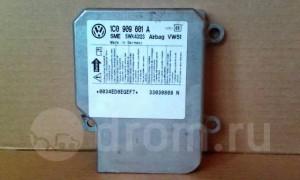 Блок управления подушкой безопасности (Airbag) -   )B5 Volkswagen Passat B5 Седан