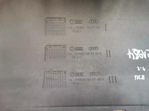 Панель заднего бампера Audi A3