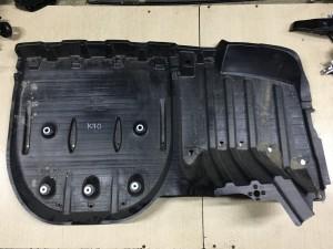 Защита днища кузова левая Toyota Camry VIII (XV70)