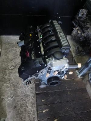 Двигатель N52B30A 3.0L   E83 BMW X3