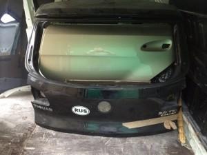Крышка багажника черная Volkswagen Tiguan I Рестайлинг