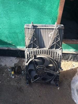 Радиатор в сборе Skoda Octavia I Рестайлинг Лифтбек