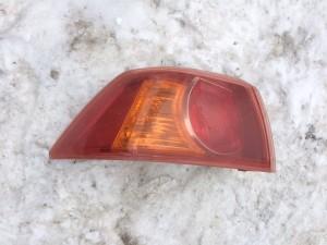 Задний левый фонарь  в крыло Mitsubishi Lancer X Седан