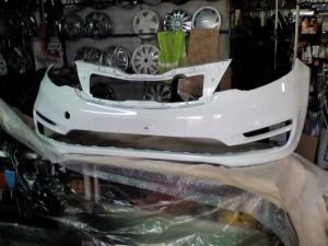 Бампера окрашеные кия рио Kia Rio III Рестайлинг – седан
