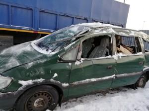 В разбор поступила Opel Zafira A
