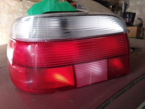 БМВ Е39 задний левый фонарь седан BMW 5er IV (E39) Седан