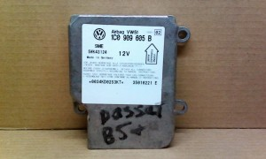 Блок управления подушкой безопасности (Airbag) -   )B5 3B, AEB Volkswagen Passat B5 Универсал 5дв.
