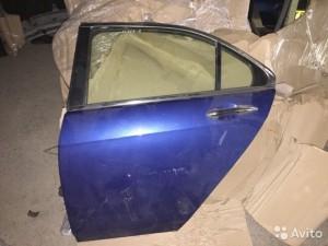Задняя левая дверь Honda Accord VII Седан