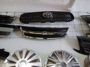 Решетка радиатора Шевроле Лячетти седан Chevrolet Lacetti Седан