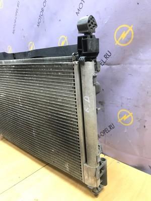 Радиатор кондиционера Opel Corsa D Z14XEP Opel Corsa
