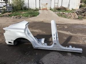 Крыло заднее правое с порогом Toyota Camry VIII (XV70)