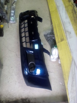 Бампер передний Ниссан Альмера g15 синий rpg Nissan Almera III (G15)